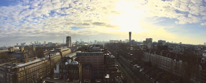 Panorama taken from the group office!