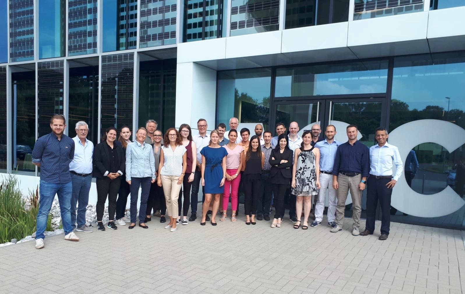 July 2018: Ioannis attends the EENSULATE general assembly meeting and discuss latest developments in thermochromic glazing